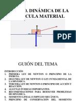 TEMA 11. DINÁMICA DE LA PARTÍCULA.pptx