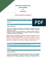 Processo Do Trabalho - Av1 by West Gave