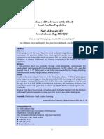 Prevalence of Presbycusis in the Elderly Saudi Arabian Population