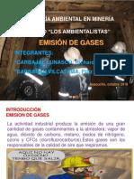 gases en minería subterránea