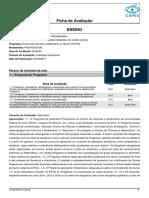 Ficha Recomendacao 11001011007P6