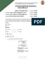 Examen de Máquinas Eléctricas 3 Sustitutorio