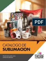 Catalogo de sublimacion