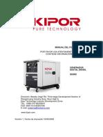 Instrucciones Generador Inverter Diesel ID6000