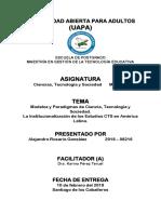 La Institucionalización de Los Estudios CTS en América Latina
