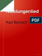 BARTSCH, Karl. Das Nibelungenlied (1887)