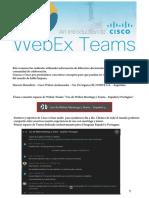 Resumen Webex Teams Español