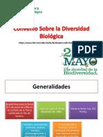Convenio sobre la diversidad biologica