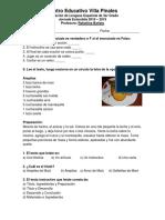 Centro Educativo Villa Pinales - Evaluación de Lenguas Española de 3er Grado