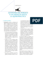 Actitudes Del Público y de Los Médicos Hacia La Quiropráctica
