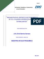 Innovación en el depósito electroforético de TiO2 utilizando diferentes agentes estabilizantes..pdf