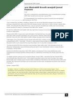 Jurnal Penyakit Paru Obstruktif Kronik Menjadi Jurnal Resmi Dari COPD Yayasan