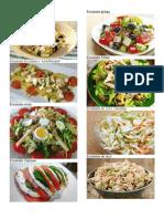 10 tipos de ensaladas