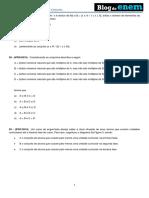 Álgebra Conjuntos