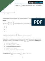 Álgebra Matrizes  Inversas.