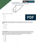 Álgebra Progressão Aritmética PA