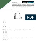 Álgebra Funções de 2º Grau