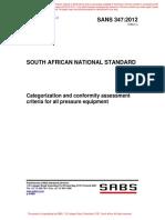 Pressure Equipment Regulation