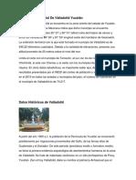 Extensión Territorial de Valladolid Yucatán