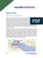 Brasil Tratados de Limite
