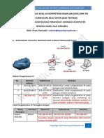 Pembahasan Soal Uji Kompentensi Keahlian (UKK) SMK TKJ Paket 2 Kurikulum 2013 - Tahun 2019