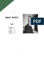 Samuel Beckett, Cuentos