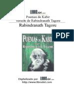 Tagore, Rabindranath - Poemas de Kabir