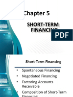 Chapter 5 - Short Term Financing