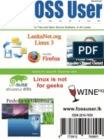FOSS User Magazine - 2010 Dec
