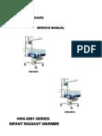 Ningbo David HKN-2001 Infant Radient Warmer - Service manual.pdf