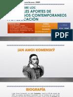 Monografía Principales Aportes de Pedagogos Contemporaneos - Eser Ica 2019