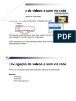 Divulgacao Videos e Som via Rede II