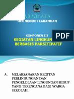 3 Kegiatan Lingkungan Berbasis Partisipatif