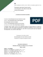 Regimento Interno TRT-SC