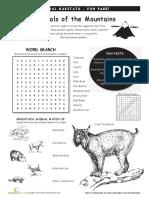 Animal Habitats Mountains