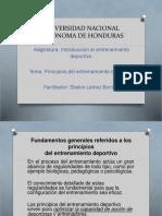Presentación 01 de Los Principios Del Entrenamiento.