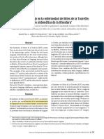 Aspectos Del Lenguaje en La Enfermedad de Gilles de La Torette; Revisión Sistemática de La Literatura.