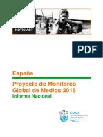 Proyecto de Monitoreo Global de Medios 2015