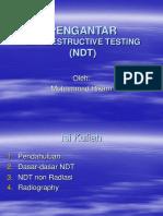 01 Pengantar NDT 2003