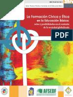 La Formación Cívica y Ética en La Educación Básica