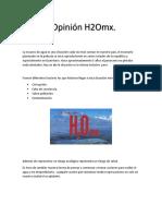 Opinion H2O mx