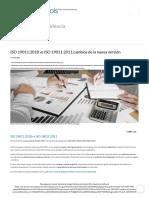 ISO 19011_2018 vs ISO 19011_2011