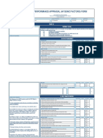 Pa - Performance Appraisal Form for Hygenic Factors