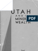 Utah and Its Mineral Wealth