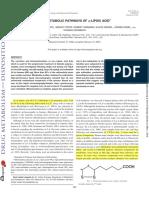 ALA and New Metabolic Pathway