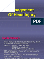 Management of Head Trauma1 Undergradua