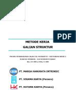 Galian Struktur