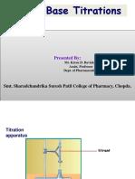 Acid Base Titration KDB