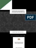 1. Mortuary Management Policies