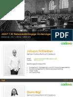 Webinar ABAP 7.50 Releaseinformationen Final